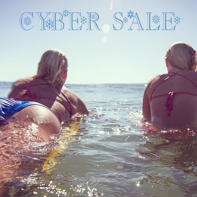 Last day to order from our Cyber #Sale to get your #bikini for Christmas! Shop.odinasurf.com/c/cyber-sale #pc @stellacrick