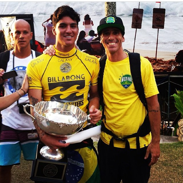 Huge congrats to @gabrielmedina for the win and thank you @giora77surf for all the support