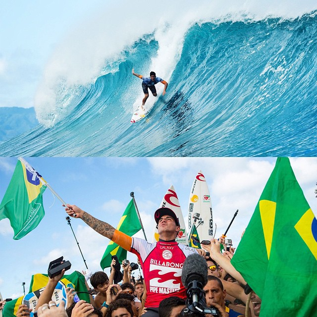 ICYMI: Last night, @gabrielmedina became the first @ASP world champion from Brazil.