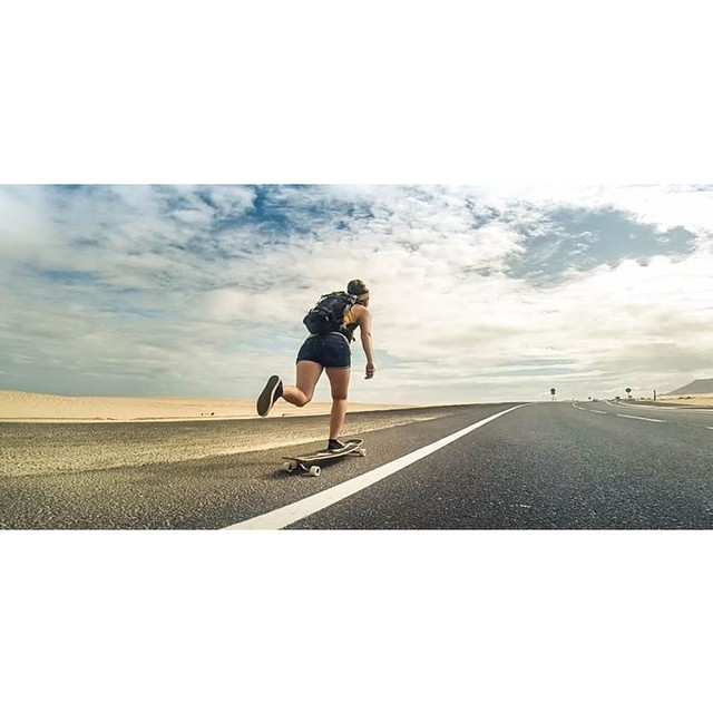 @mari_aprilfool pushing through the weekend. How's yours going? @carl_freestyle_longboard photo  #longboardgirlscrew #girlswhoshred #girlswhopush #girlsinlongboarding #mariaarndt