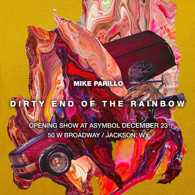 Join us in Jackson for @mikeparillo 's Dirty End Of The Rainbow, a show of originals that will yank open your brain and give you a little look inside. 5-8pm at Asymbol Art + Essentials. Let us welcome Mike home in style! #asymbolart #mikeparillo...