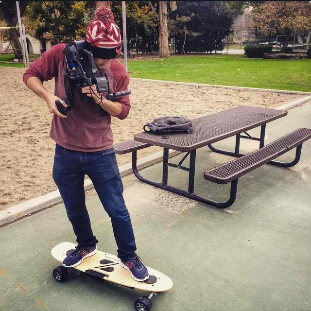 Do not try this at home!  @tldtoday using a $8000 camera on the Z.  Check out the Z in his video at youtube.com/tld