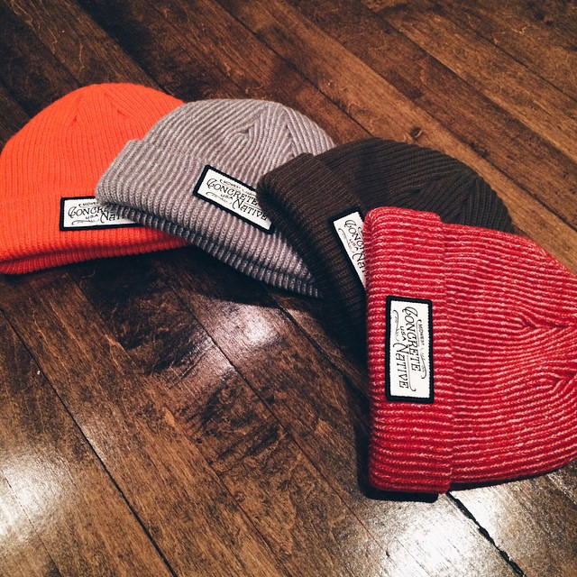 If you need any last minute gift ideas, the Buckshot Beanie is available in a range of colors and perfect for any cranium! #happyholidays #from #concretenative