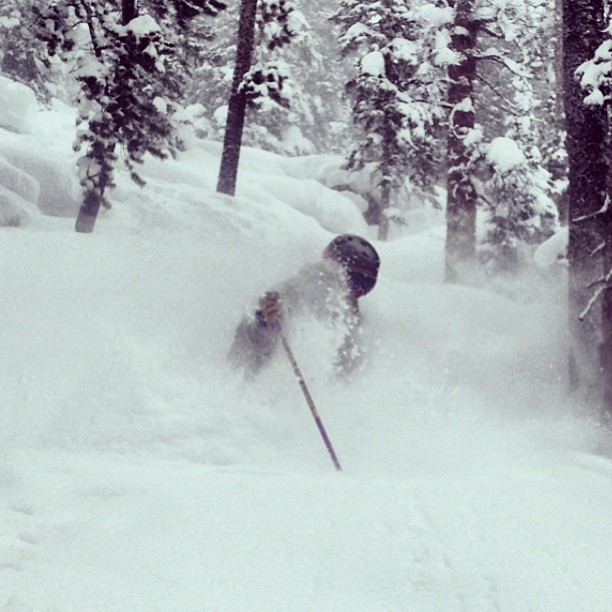 Things got #deep yesterday!  @winterparkresort #supersecretstash