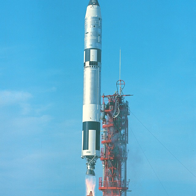 The Gemini was the first sub-orbital rocket that paved the way for NASA's Apollo missions #makeitbetter #lovematuse