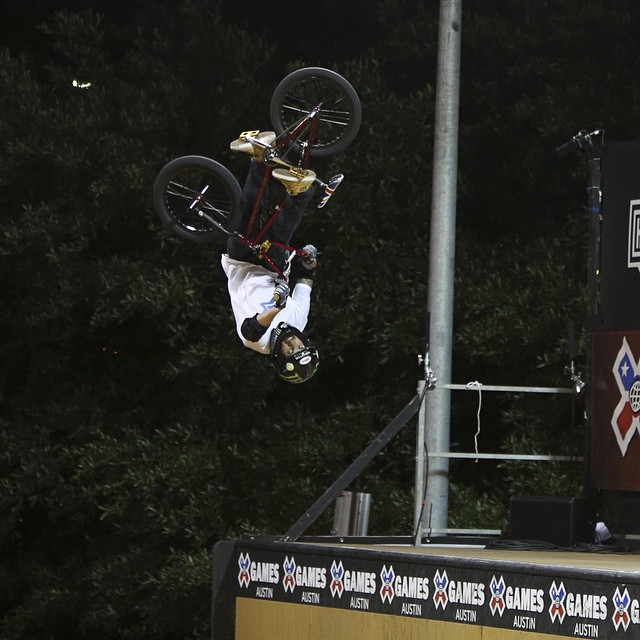We're counting down our top 10 moments of 2014!  No. 10 – @jamiebestwick took home his ninth consecutive BMX Vert gold medal at #XGames Austin.