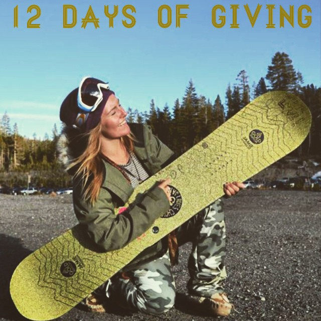 12 DAYS OF GIVING // GNU  DAY 10: @GnuSnowboards is raising the bar this year--in addition to the amazing B-Pro model which has benefited B4BC since it's inception, now the limited edition @jamieanderson and @kaitlynfarr #GoldMetalLiving boards! Now,...