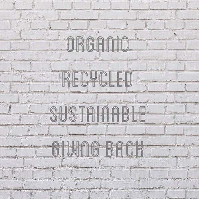 We've made our list + checked it twice. What will you commit to in #2015? #thinkingahead #newyear #commitment #ideas #organic #recycled #sustainable #inspo #mondaymotivation #words