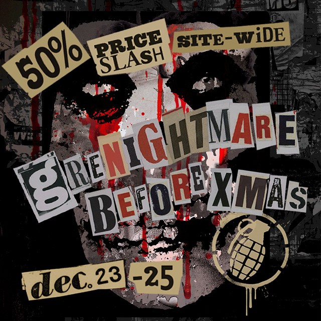 Don't get put on our naughty list get over to www.grenadegloves.com and get the goods you need to shred this winter for 50% off! #grenightmare