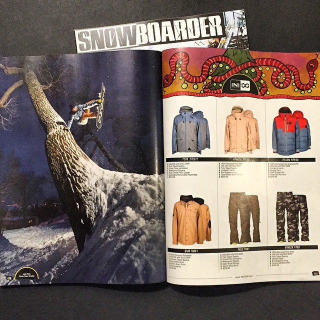 Still time to go out and get that special holiday gift! @snowboardermag 's Holiday Gear Guide is on shelves featuring a small group of our Winter14 Range. Find a store near you with the Link in our bio.