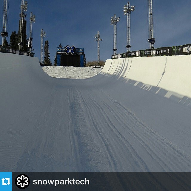 #Repost @snowparktech ・・・ X Games is getting closer, and the crew is getting ready to pack up and head out to Aspen. | #XGames #Aspen #Latergram #SnowParkTech