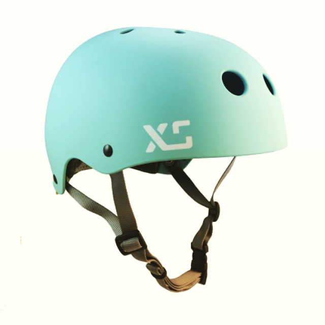 XS 2015 colours now in stock! Photo: Classic Skate in Seaglass. Sizes XS/S and M/L $59 #xshelmets #skatehelmet #forgirlswhoshred #skatebikeboardski #seaglass #bikehelmet