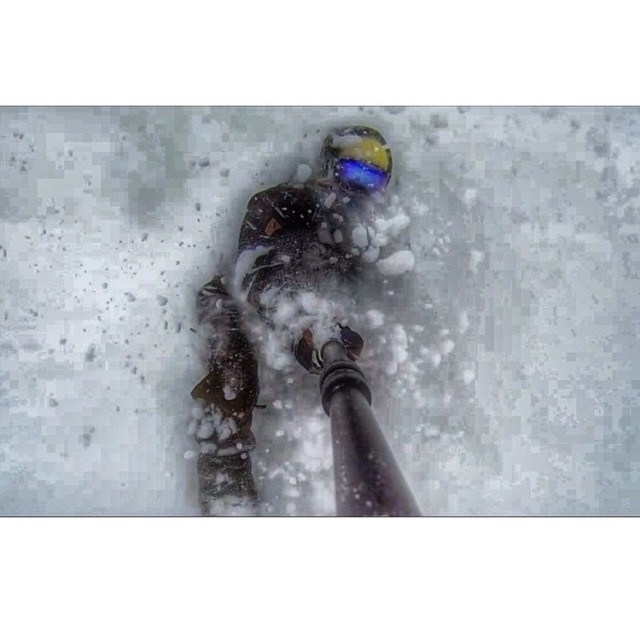 @erikathevikingvikander getting what we all want for Christmas and Hanukkah! #GoProSelfie as she exits the Whiteroom @breckenridgemtn . #TitsDeep @Rockies goin off