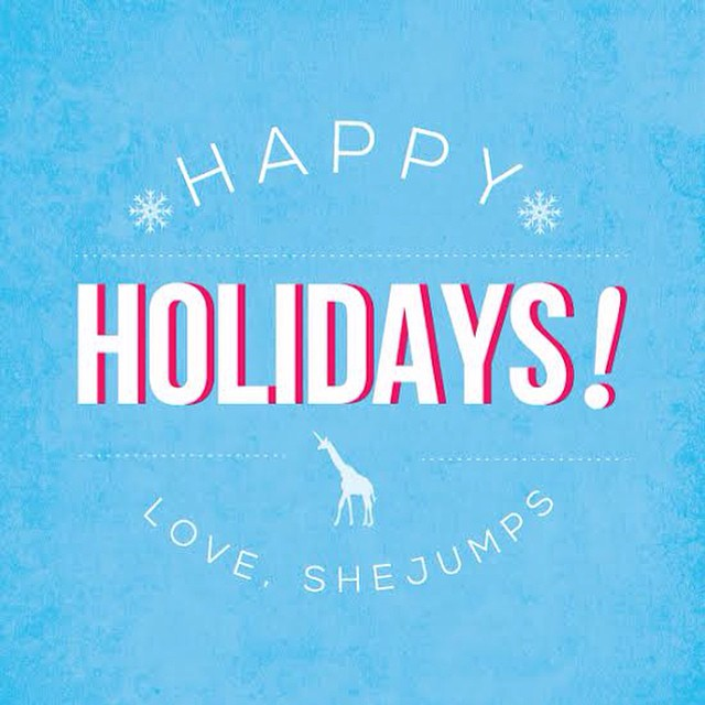 From us to you! Happy Holidays! #IAmSJ #girafficornnation #grateful