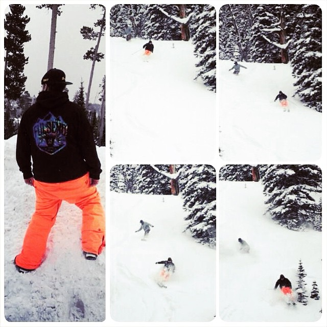@zayjmad191 @montanagrams #bigsky #skiing #snowboarding #montana #justsendit #powder #atomicskis #fulsend #backcountry #sendit #hashtag
