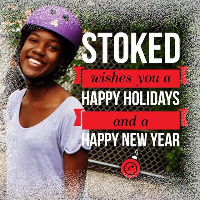 Happy Holidays from #STOKEDorg!