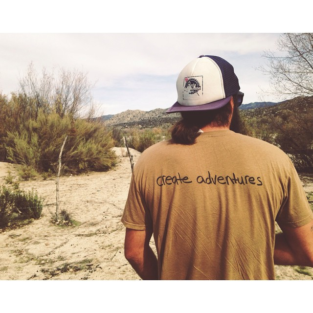 Baja adventures with Tribe Ambassador #BrotherTim and our men's Adventure tee in coyote