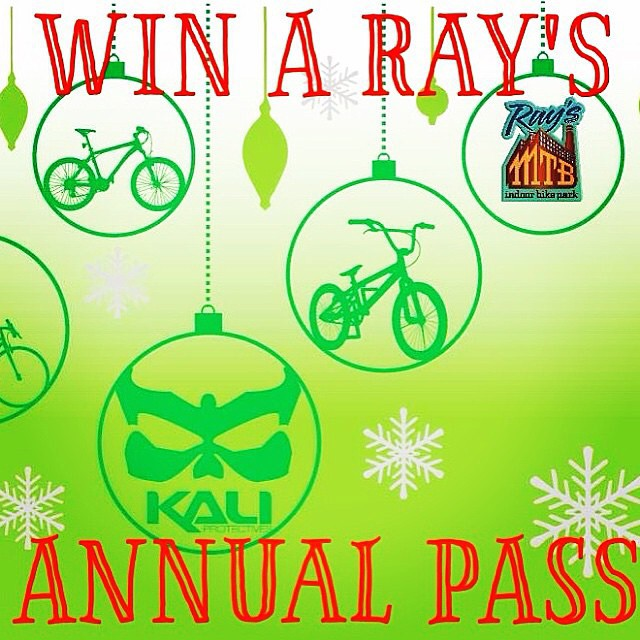 A season pass to @raysmtb park is the gift that keeps on giving. Click the link on our profile for your chance to win one! | #TeamKali #TisTheSeasonForShredding