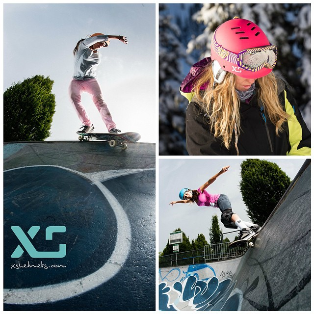 What a great year! Thank you to all our amazing team riders who always raise the bar of what is possible. You guys are the best! Happy Holidays everyone! @cocomarii @jordynbarratt @bevmoskater @sonsomasia #forgirlswhoshred #skatebikeboardski