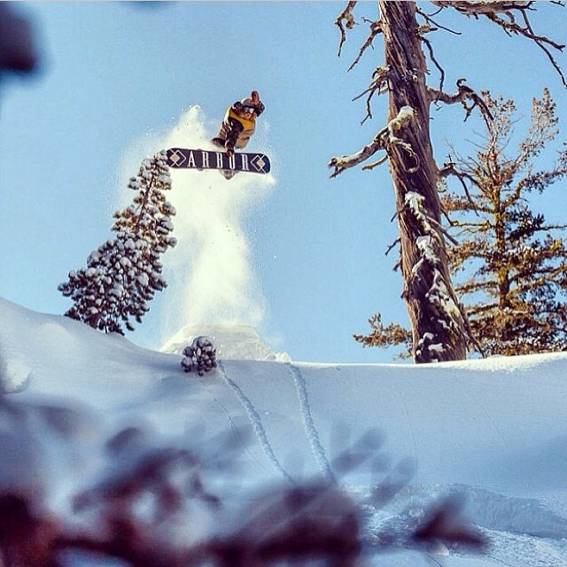 #methods still top the charts in our book. Curtis Woodman @insta_wood pokes em out like the best of em. #Tahoe #SurfTheEarth