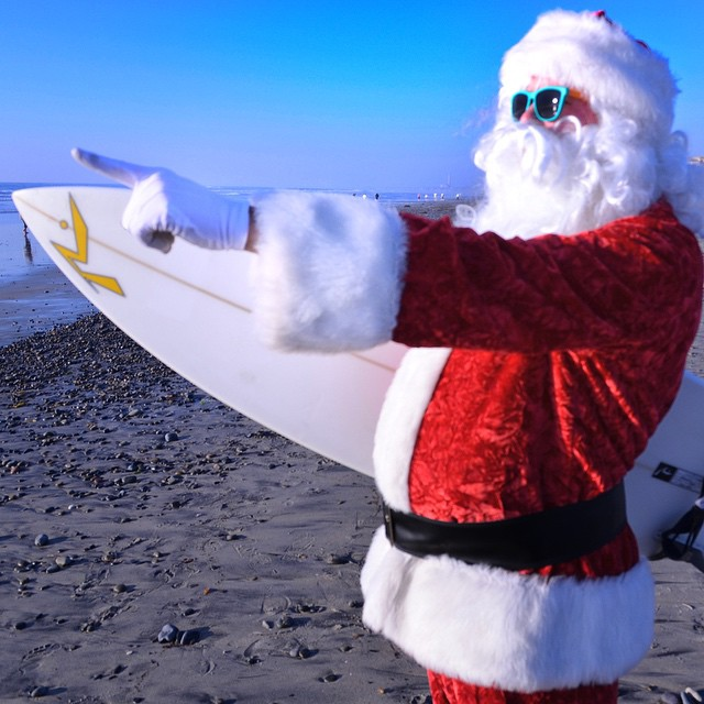 Santa is coming tonight! Merry Christmas!! #Kameleonz #MerryChristmas #HOHOHO #Santa #LifesABeach #ChristmasEve Great pic by @mygomount Kameleonz.com