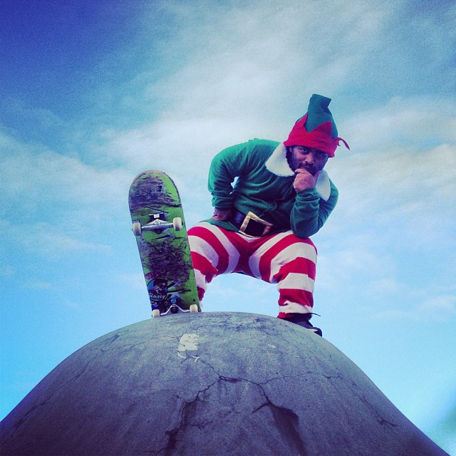 @angelrcardenas Christmas special is now online! YouTube.com/surplusskate #getshakled