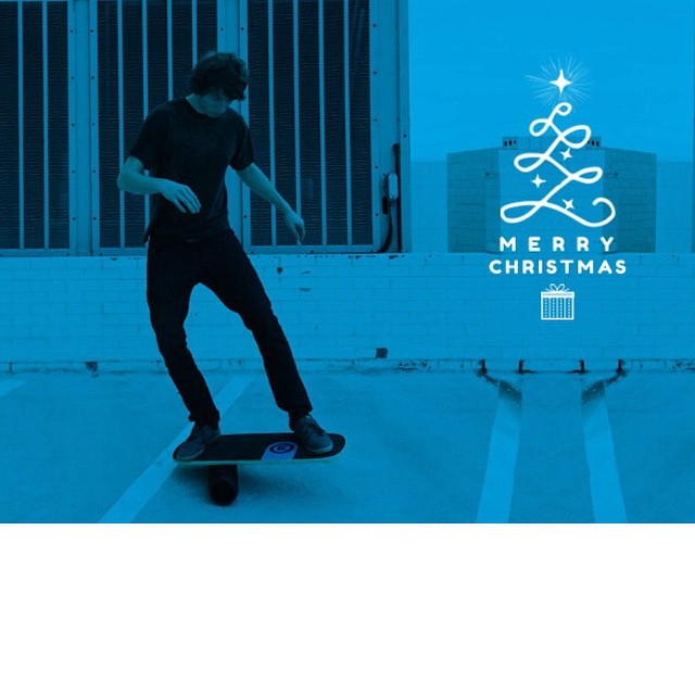 Merry Christmas from Revolution Balance Boards. Have a happy holiday!
