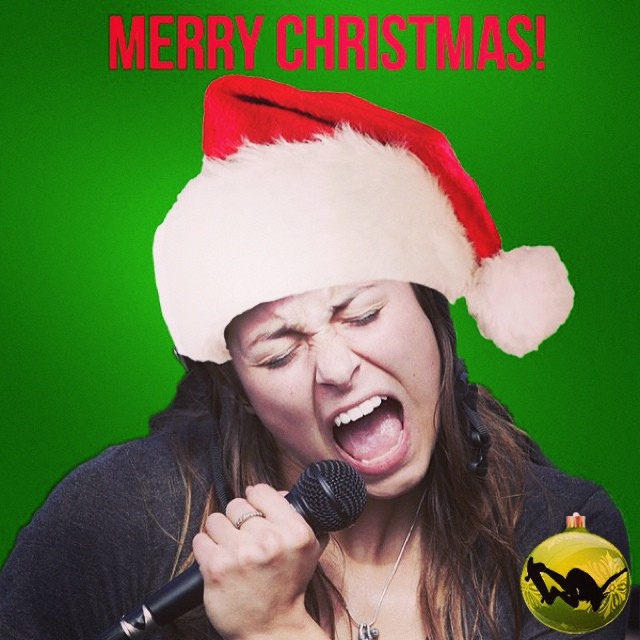 We hope you're with your family singing with joy! Thanks for the #holiday cheer @noravexplora ! #merrychristmas