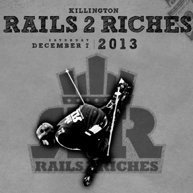 Check out our Facebook for our Rails2Riches contest, you have a chance to win a lift ticket & a VIP spectator pass to the event this weekend at @killingtonparks #steezmagazine
