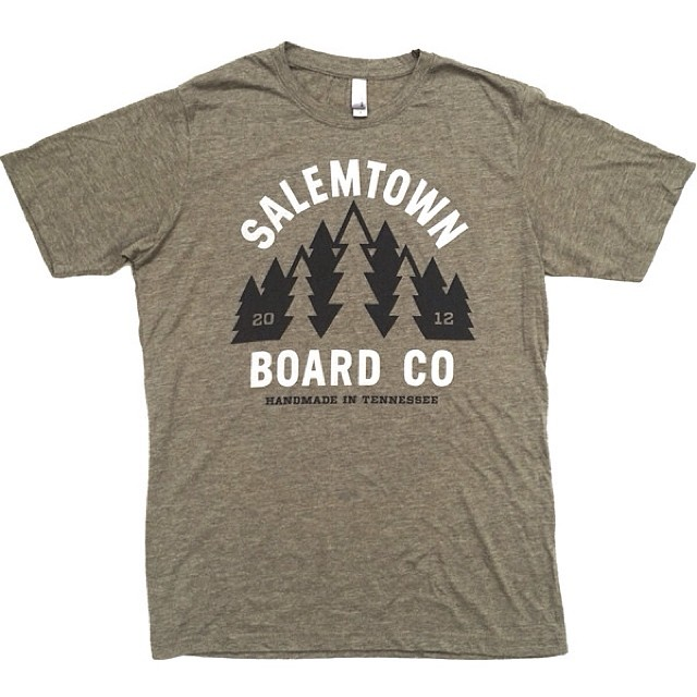 Check out this new Sage Green tri-blend color in our Forrest T. This is a limited run of 25!