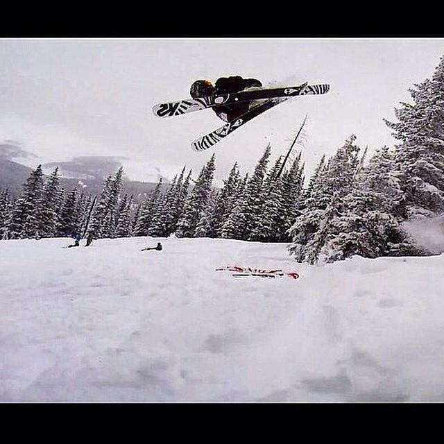 Team rider from #Colorado @kkfors ❄️#FrostyHeadwear #Skiing