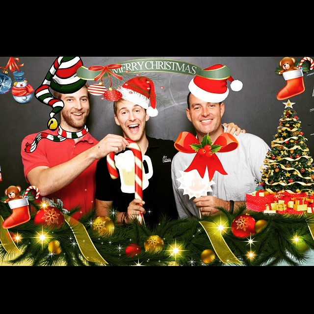 Merry Christmas and Happy Holidays from the #Maholla gents!  #Christmas #HappyHolidays #grassracks #boardrack #bamboo