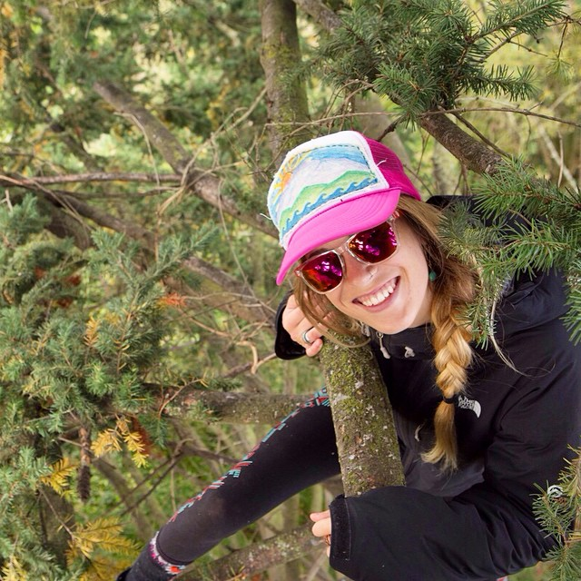 Go climb a tree!