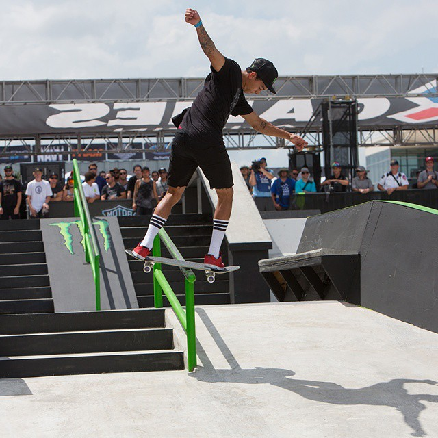 We're counting down our top 10 moments of 2014!  No. 6 – @nyjah_huston set the record for the most gold medals in Skateboard Street history at #XGames Austin.