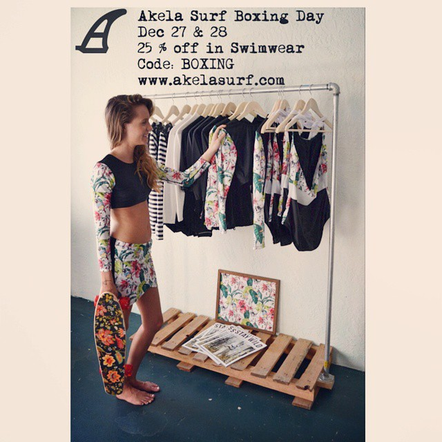 #AkelaSurf Boxing Day