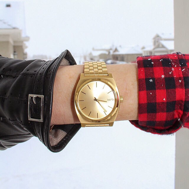 Thanks to everyone who has shared and tagged #nixon their new Nixon gifts! We're stoked to see what you gave or gifted this holiday, be sure to share and tag yours for a chance to be featured on @nixon_now or nixon.com, too.  Featured: The Time Teller...
