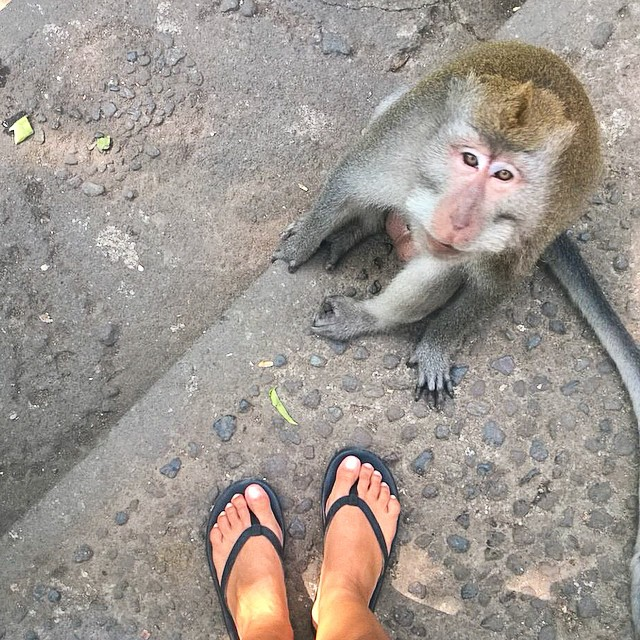 This little guy wanted to know where he could pick up a pair  #innertubed #sandals #soleswithsoul  @drifterbali @singlefin_bali @deustemple @oneillindo @theyogabarn @waterbombali @sanfranpsycho @prooflab