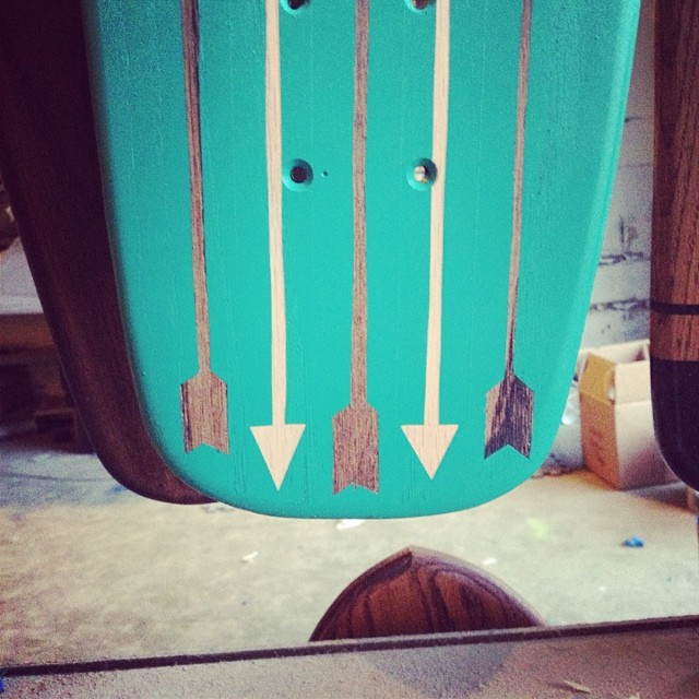 Sneak peek of a new cruiser design dropping this weekend at Nashville's @porterflea