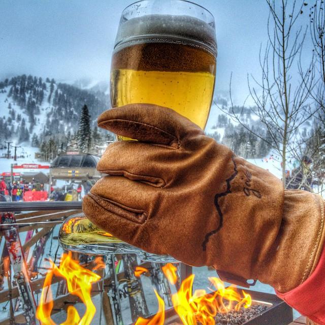 CHEERS! #beersnboots #bootsnbeers @jacksonhole