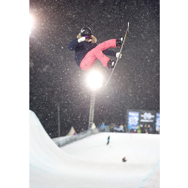 Two-time #XGames Snowboard SuperPipe gold medalist @torahbright turned 28 years old today.