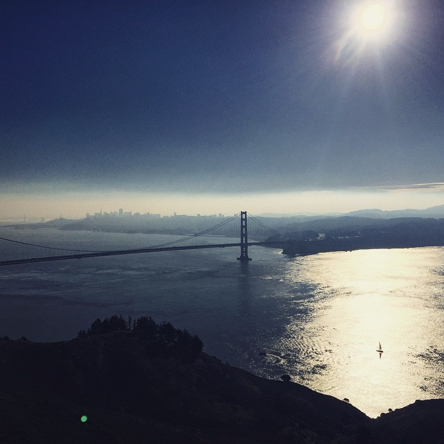 Good Morning from San Francisco #hawkhill #marinheadlands #sanfrancisco #sundayfunday