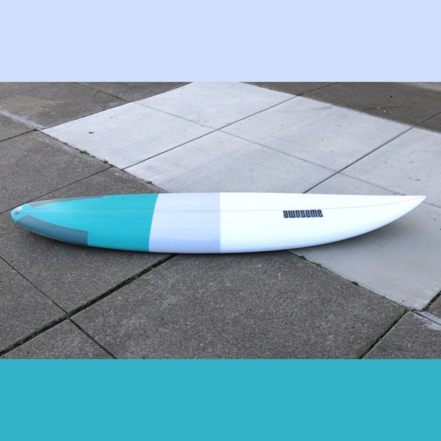 OB6'6 #awesome #awesomesurfboards #OB #shredsled #surfboard #surfboards #madeincalifornia