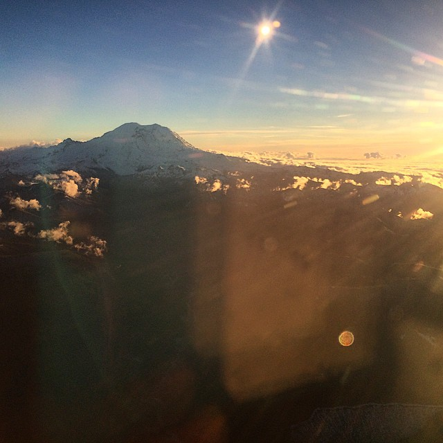 Big shout-out to Mount Rainier for our last #MountainCrushMonday of 2014!