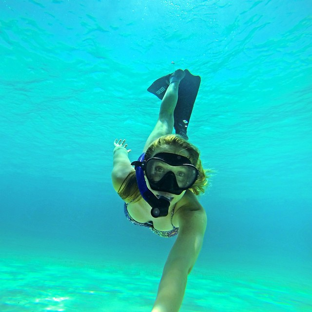 @liahlm freediving Eleuthera island in the Bahamas. #gopro #gopole #gopoleevo #freediving #bahamas