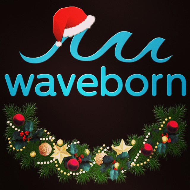 Happy holidays from all of us at Waveborn. #newyears #holidays #xmas #like #waveborn #findthesun #winter #snow #santa #2014 #2015 #shades #cataract #SEE