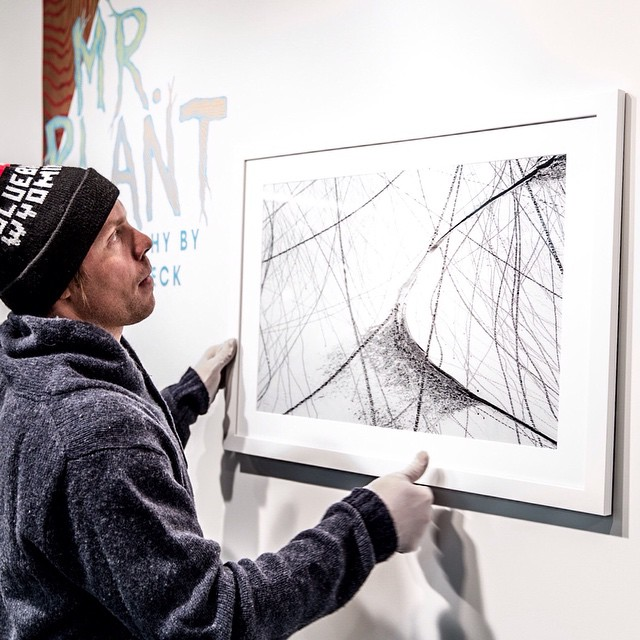 @vernondeck makes art for the people, art you can touch (with gloves on). @travisrice  @alexsaburolopez
