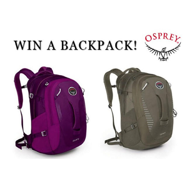 WIN A BACKPACK!  @ospreypacks has donated 10 daypacks for our end-of-year giveaway. Donate $50 or more in December, and you'll be entered to win a men's Comet or a women's Celeste pack.  Thanks for your support in 2014!! We couldn't do it without...