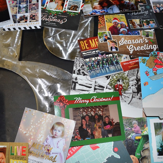 Thank you for all the nice Holiday cards! #muchobliged