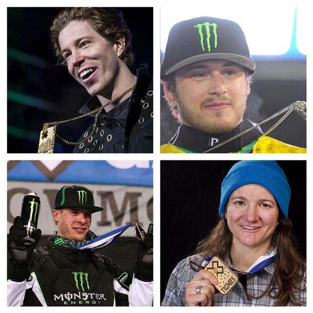 Most Winter #XGames Medals: @shaunwhite – 18 @airparsons – 13 @tuckerhibbert – 12 @kellyclarkfdn – 12