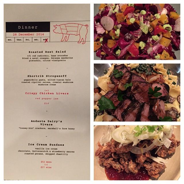 Dreams came true @AdHocYountville -  definitely one of my favorite meals to date #WorthIt #Yum #nomnomnom #Napa #foodie #winepairing #lategram #adhoc